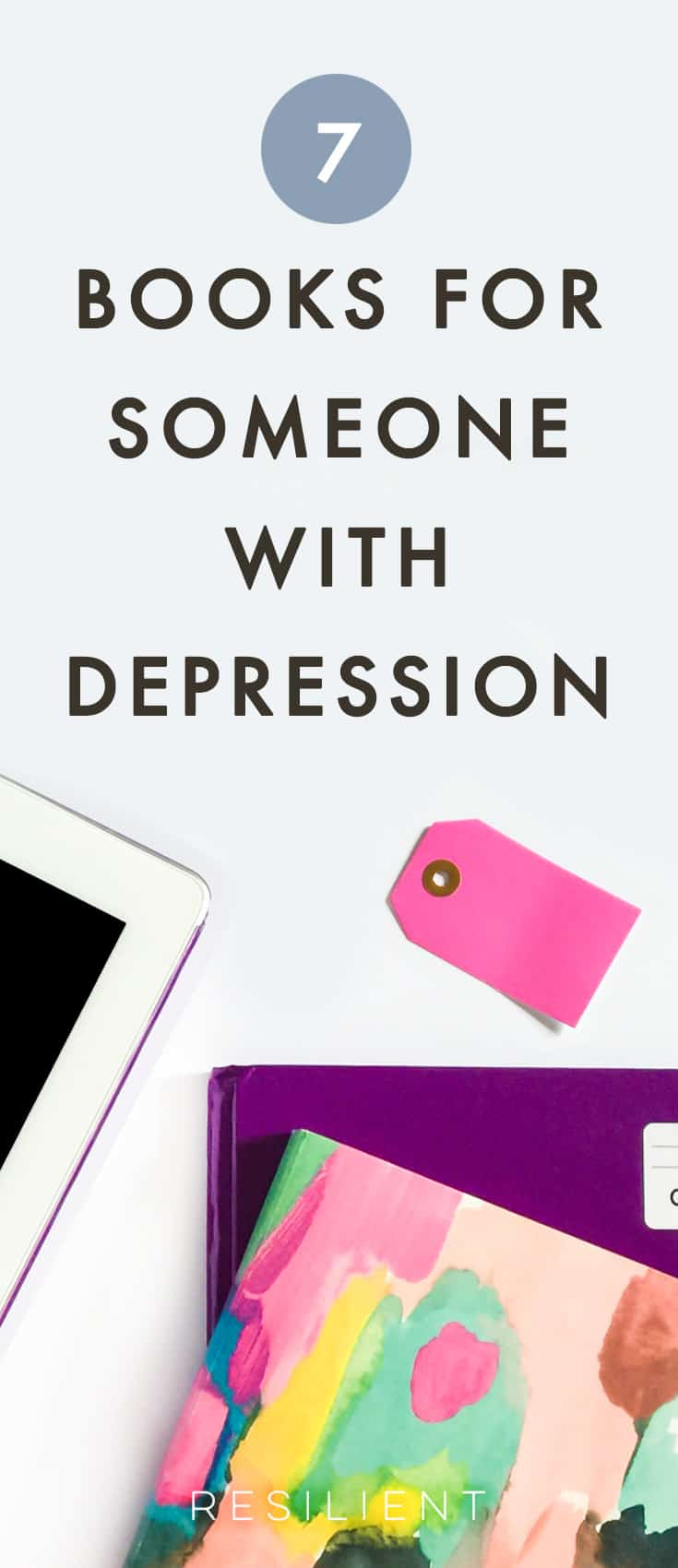 While I was learning how to be happy again, I came across a lot of different books and things that helped me figure out my life and get things back on track. These are a few that I love in particular.  Here are the best books for overcoming depression, or 7 books for people with depression.