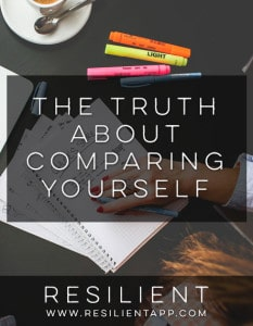 The Truth About Comparing Yourself