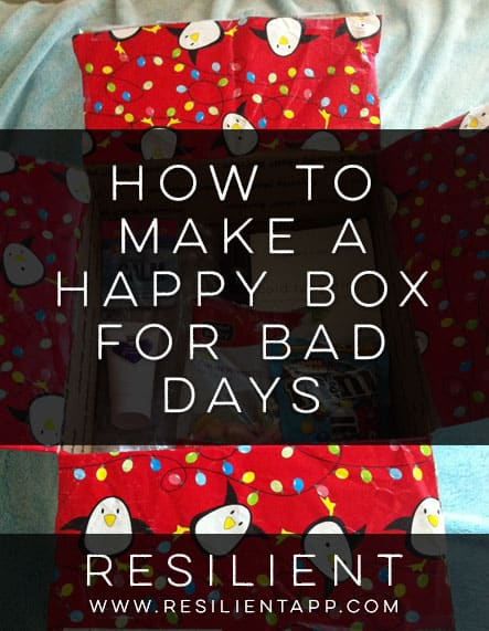 How to Make a Happy Box for Bad Days