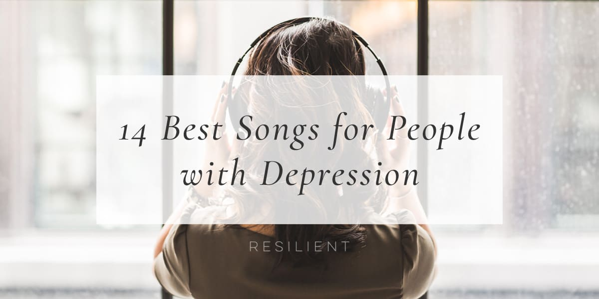 I created this list of the 14 best songs for people with depression originally with the inspirational songs I listen to in order tolift my spirits ifI'mhaving a bad day, and now I want to share it with you. Maybe it will help you too. :)