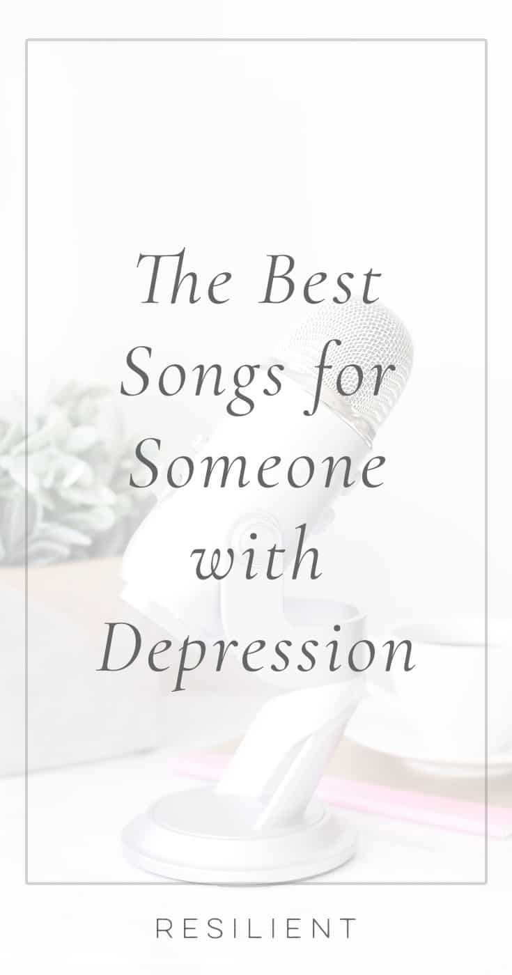 I created this list of the 14 best songs for people with depression originally with the inspirational songs I listen to in order to lift my spirits if I'm having a bad day, and now I want to share it with you. Maybe it will help you too. :)
