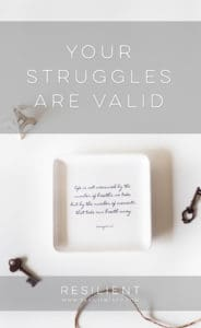 Your Struggles are Valid