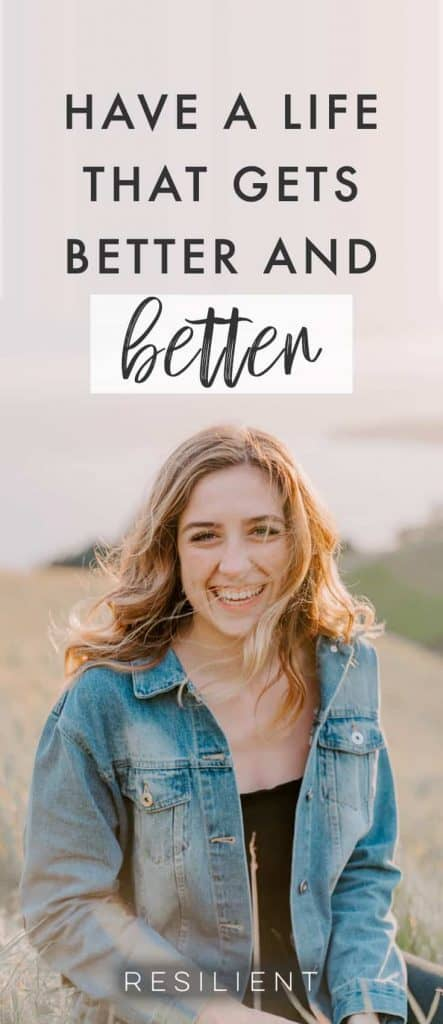 While it's inevitable that bad things will happen in life, they don't have to make you miserable or unhappy. In fact, you can choose to be happy in any situation (within reason of course :) I'm not talking about never having emotions). Here's how to have a life that gets better and better every day.