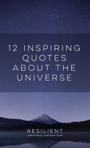 12 Inspiring Quotes About the Universe