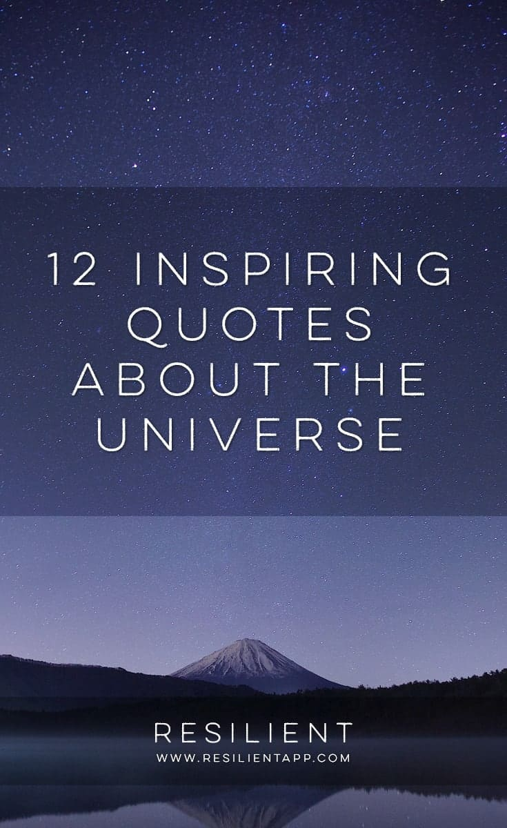 12 quotes about the universe