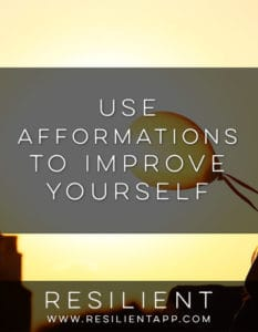 Use Afformations to Improve Yourself