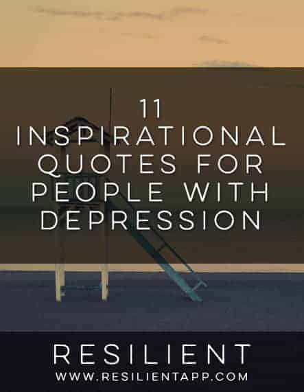 Inspirational Quotes For Depression Impressive Inspirational Quotes For People With Depression