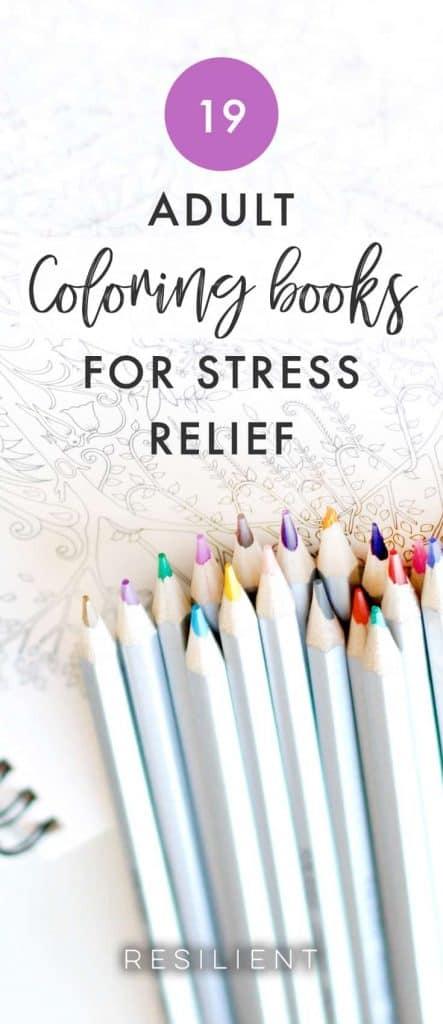 Adult coloring books are a super popular way to relieve stress!  I like coloring from time to time (though I usually don't stay inside the lines haha :)) and it's a nice meditative kind of activity as an alternative to actual meditation.  It's just one of those things you can do whenever you have a free moment to just relax and unwind.  Plus, you get to step away from the electronics and focus on something totally analog (though there are coloring apps available too). Here are 19 adult coloring books for stress relief.