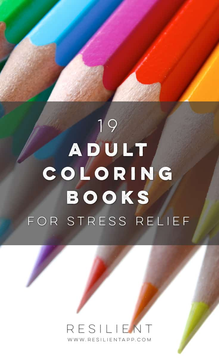 Adult coloring books are a super popular way to relieve stress! I like coloring from time to time (though I usually don't stay inside the lines haha :)) and it's a nice meditative kind of activity as an alternative to actual meditation. It's just one of those things you can do whenever you have a free moment to just relax and unwind.
