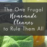 The One Frugal Homemade Cleaner to Rule them All