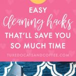 4 House Cleaning Hacks for Busy People