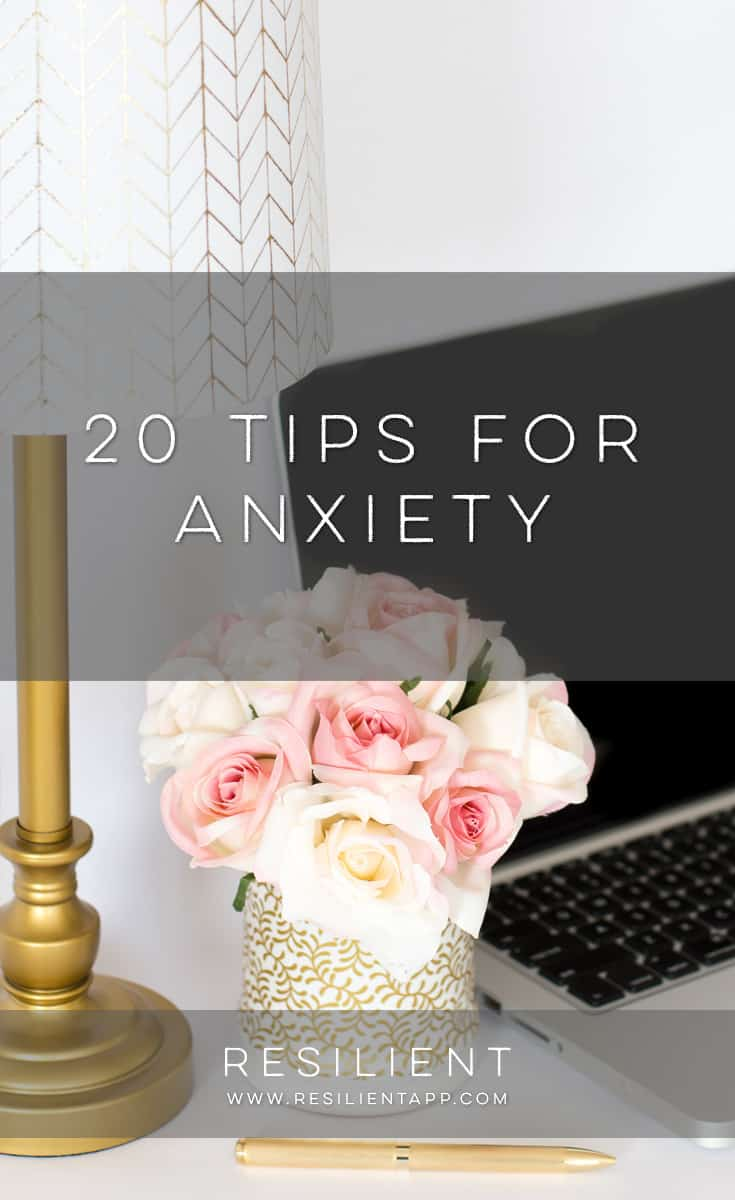 Anxiety is tough, but luckily there are a few tips for anxiety that can help make it a little easier. I've found that anxiety is usually actually trying to tell you something, so it can be helpful to let yourself feel your feelings first to figure out what's really going on.