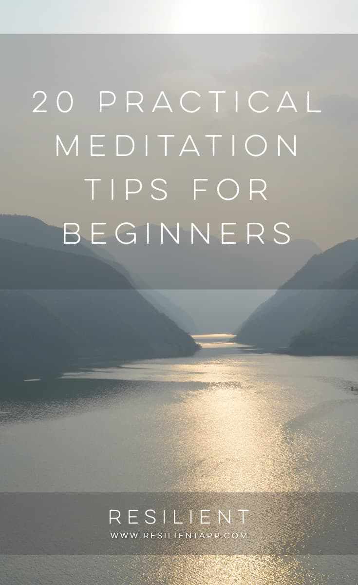 20 Practical Meditation Tips for Beginners