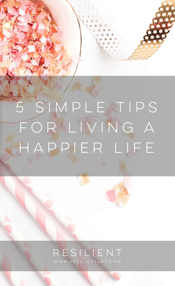Many people struggle with feelings of depression and anxiety. The stress of work and family life can really start to take a toll if you aren't careful. However, some individuals are able to overcome that stress and be happy in spite of any adversity they might be facing. You can do the same if you follow a few basic rules of happiness. Here are five simple tips for living a happier life.
