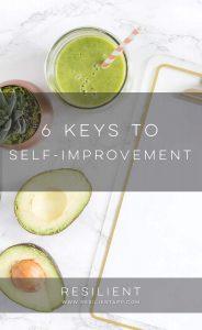 6 Keys to Self-Improvement