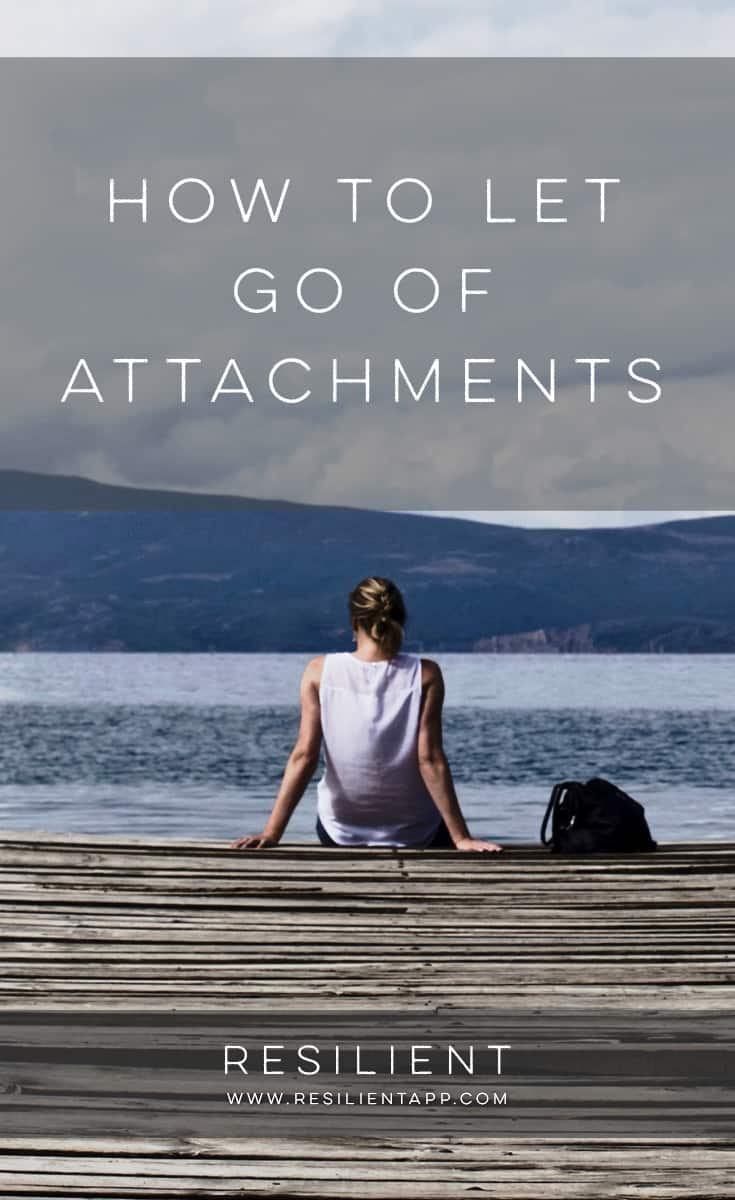 I've been finding more and more that the Buddha had it right: pretty much all of our struggles, from frustrations to anxiety, from anger to sadness, from grief to worry, all stem from the same thing … The struggles come from being too tightly attached to something. Here's how to let go of attachments.