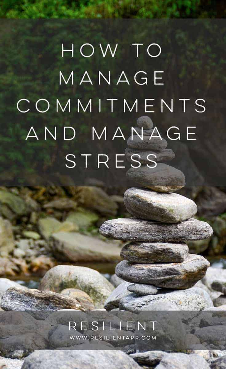 If you have many commitments, and do not know how to handle the pressure of juggling all your responsibilities at once, you are likely to suffer from stress. Stress overload can make you feel exhausted and overwhelmed, as well as slowing you down. Learning how to handle commitments wisely and manage stress can lighten your emotional load, leaving you feeling confident that you can achieve goals.