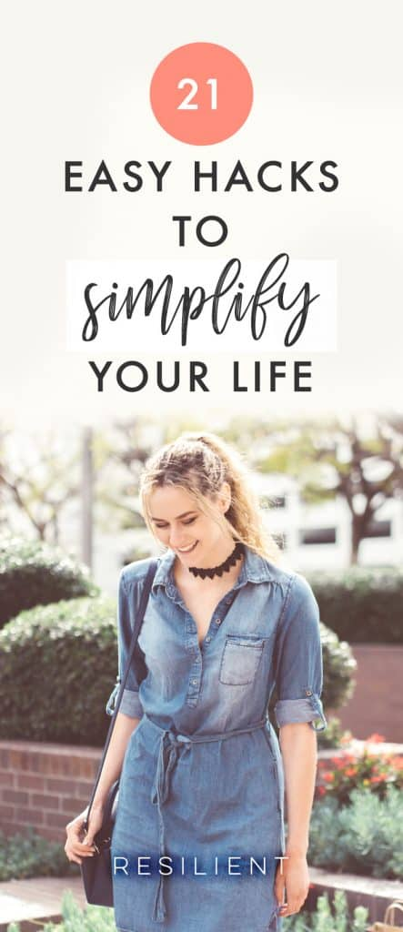 If you're trying to simplify your life, it's best to follow thefour simple stepsI've outlined before — it's just the simplest method. But sometimes life gets in the way, and you need a workaround, some way to get past your usual obstacles and to trick yourself into keeping things simple. Here are 21 easy hacks to simplify your life.