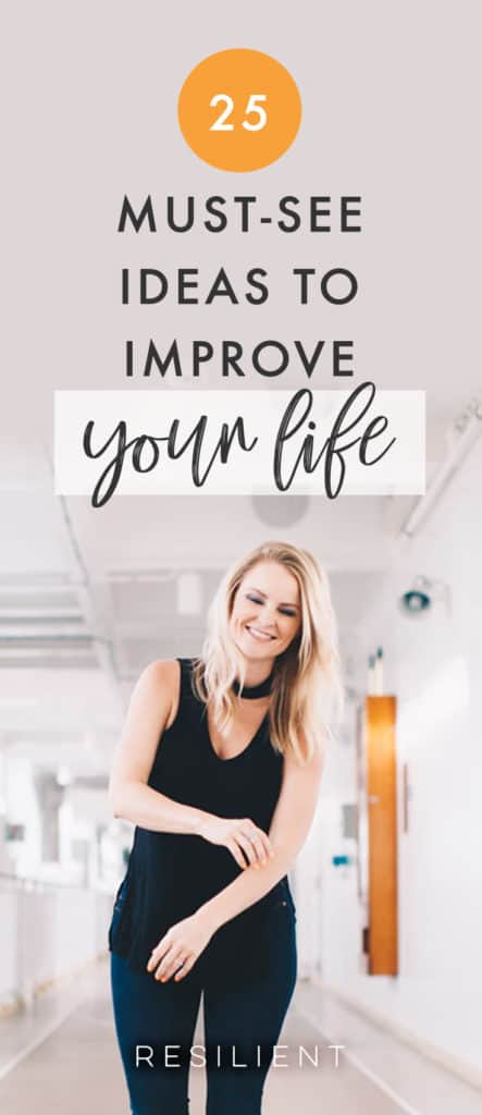 There are many different ways to improve yourself and make your life better. Here are 25 self improvement tips and ideas for improving your life.