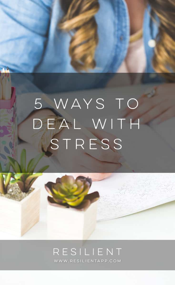 Every day we deal with stress; sometimes its the small stress of getting to work on time, and sometimes it's the larger stress of worrying if you will have a job tomorrow.  While there is no way to completely eliminate stress from our lives, the way that we respond to it can affect the type of impact that stress has on our lives.  Here are 5 ways to deal with stress.