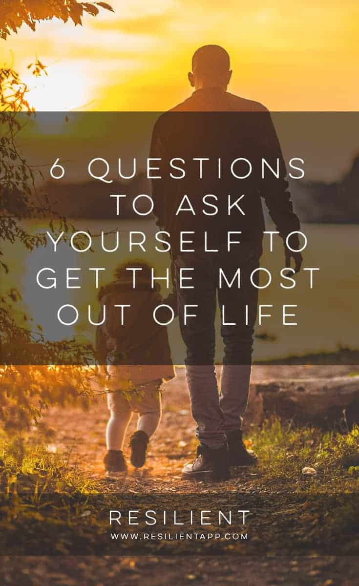 I love reading bucket lists, but after reading several of these lists, I've realized that each list is a very personal thing. It can only apply to the writer of the list, and not to all human beings in general. No such list can do that. Here are 6 questions to ask yourself to get the most out of life.
