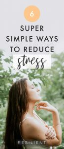 Stress is a common complaint in today's society; it can lead to all kinds of problems, including high blood pressure, heart disease, emotional and mental health problems, relationship difficulties and family troubles. Reducing your stress levels has a positive impact on your life and your health. Here are 6 ways to reduce stress.