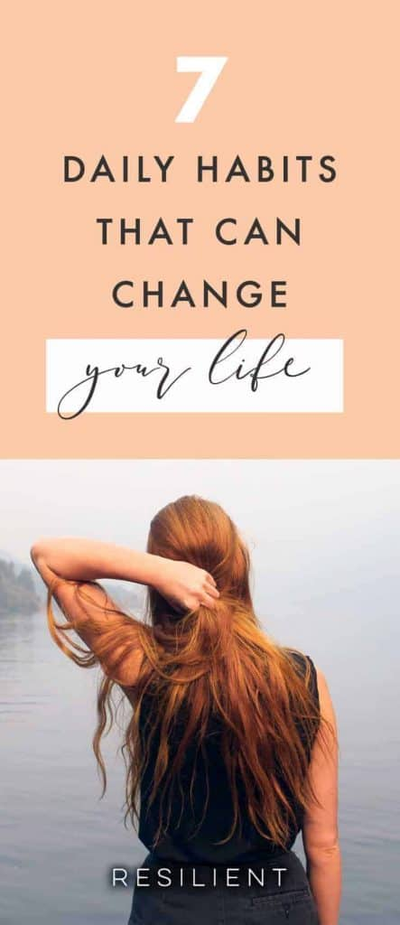 If you could just pick one or two (or seven) habits to create in the next few months — habits that will have the most impact on your life — what would they be? I often get asked this question, because people are overwhelmed when it comes to starting positive life changes. Here are 7 little habits that can change your life.
