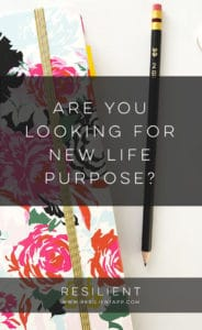 Are You Looking for New Life Purpose?