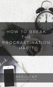 How to Break the Procrastination Habit