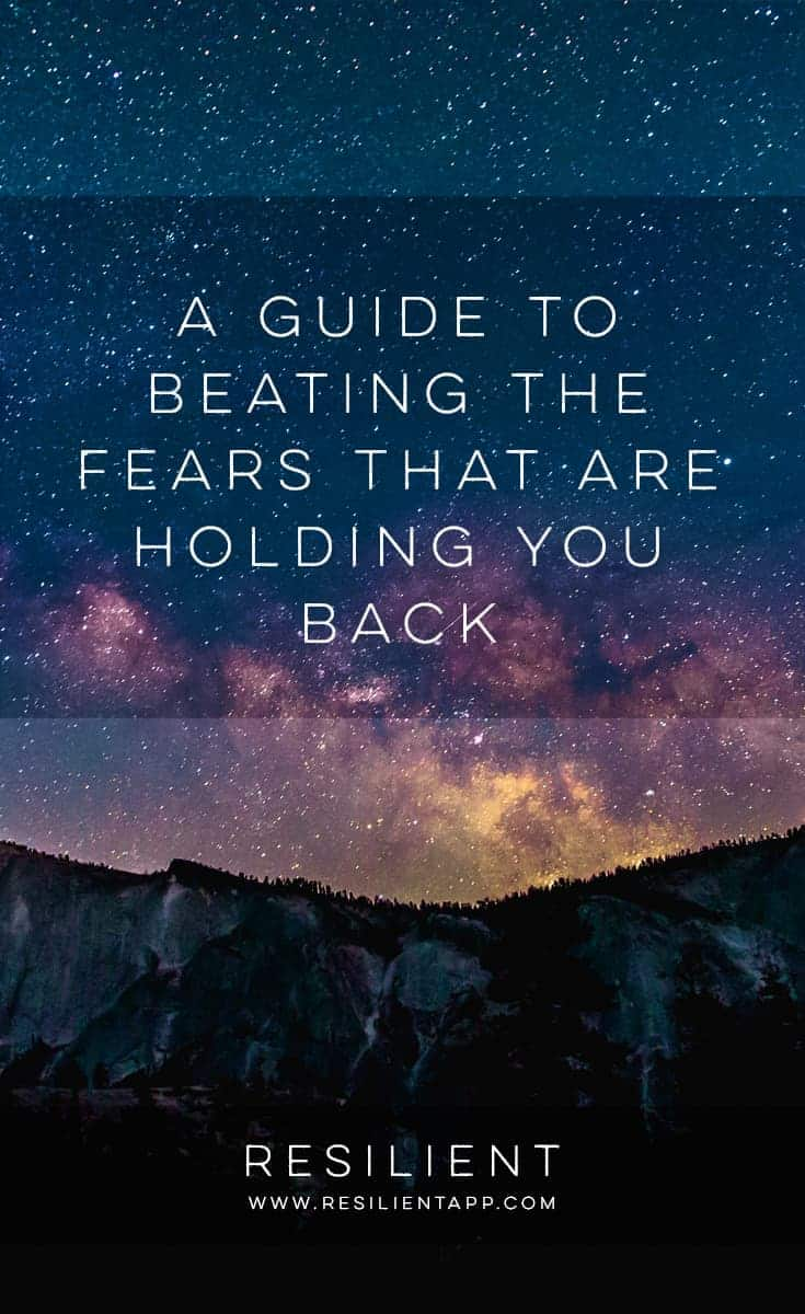 Fear of something bad happening in the future is one of the things that make us human. Animals might fear an immediate danger, that is happening right now, but only we fear something that might happen, that isn't happening now, that isn't even showing its ugly face at the moment. Here's a guide to beating the fears that are holding you back.