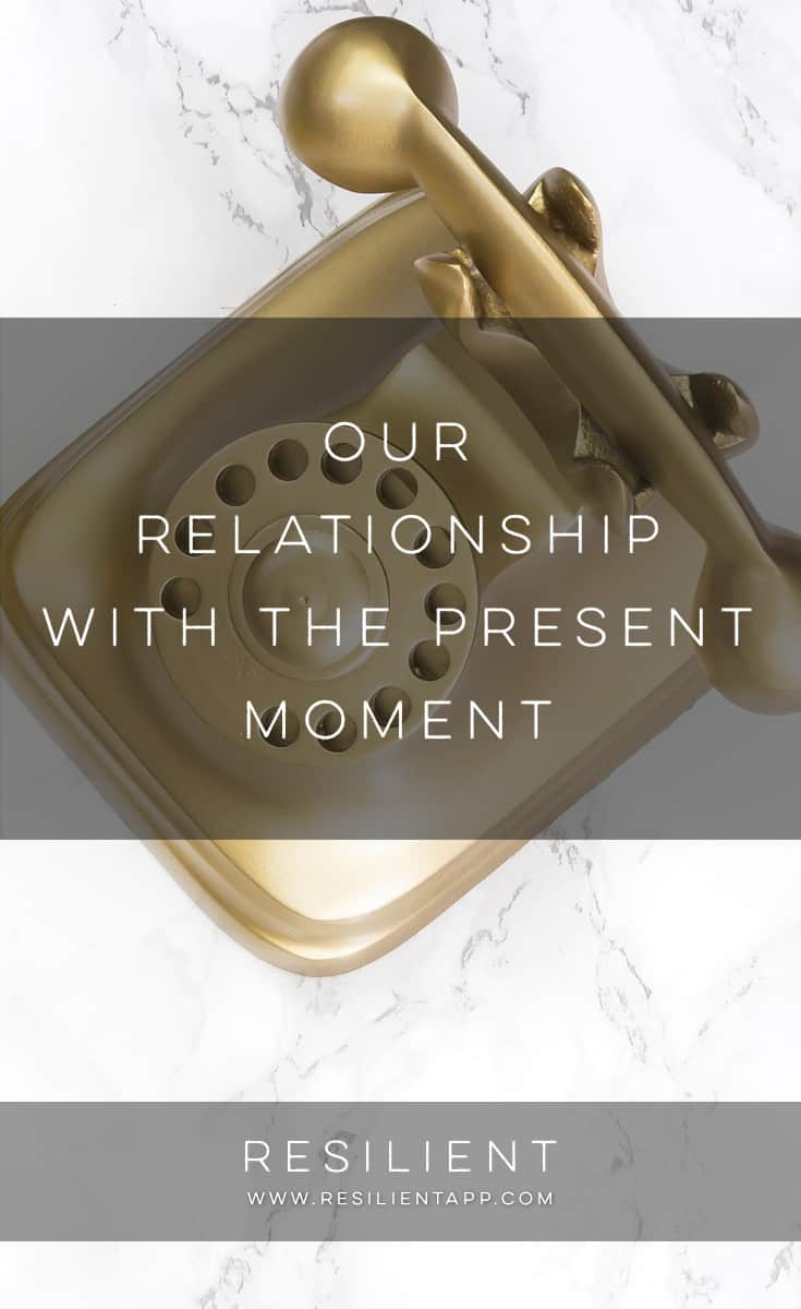 Have you ever thought of the present moment as a loved one? I've been working with this thought lately, and I find it helpful when I'm feeling rushed, distracted, worried, upset, frustrated, anxious, sad, irritated. Here's what I know about our relationship with the present moment.