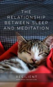 The Relationship Between Sleep and Meditation