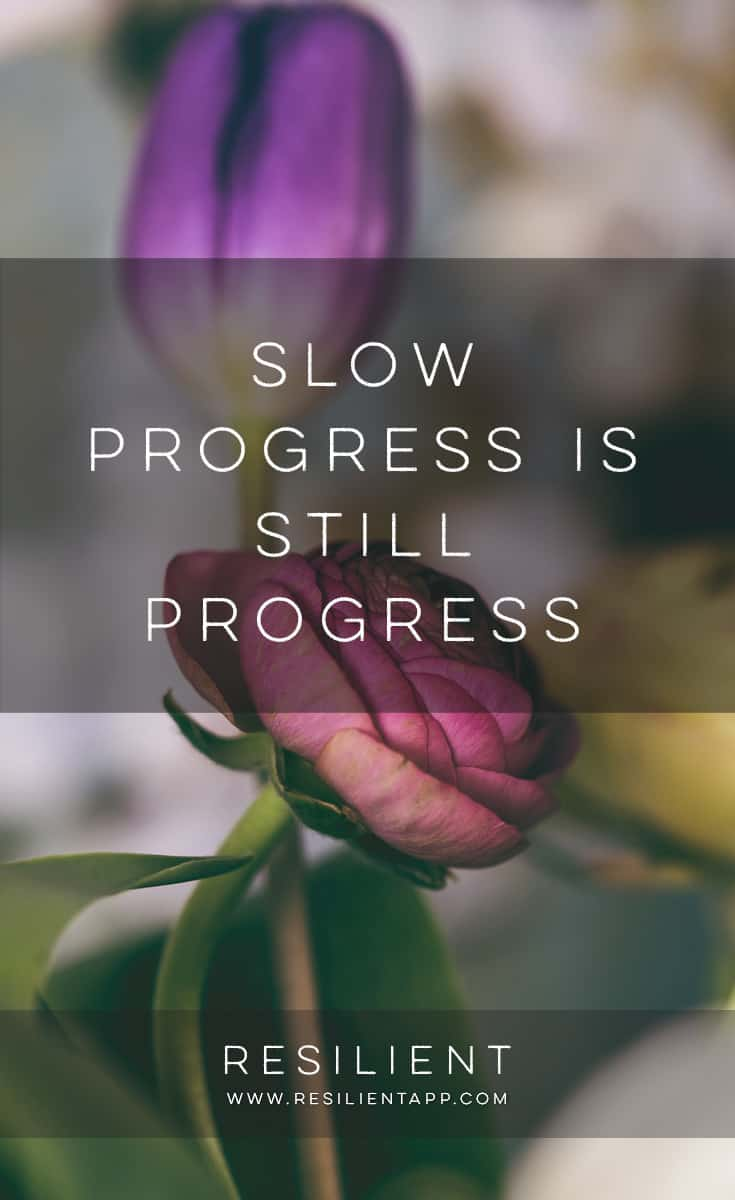 When progress is slow, sometimes it feels like you'll never reach your ultimate goal. But progress usually comes a lot more slowly than we expect. Here's how slow progress is still progress.