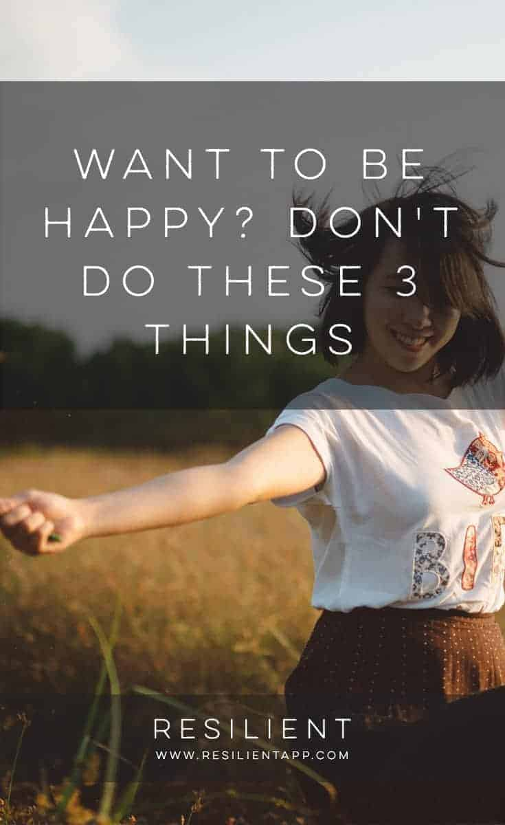 You want to be happy, who doesn't? However, you might engage in unhelpful behaviors that thwart your success. Whether you procrastinate, feed negative self-talk, or don't rest your mind, you lower your potential to create happiness.