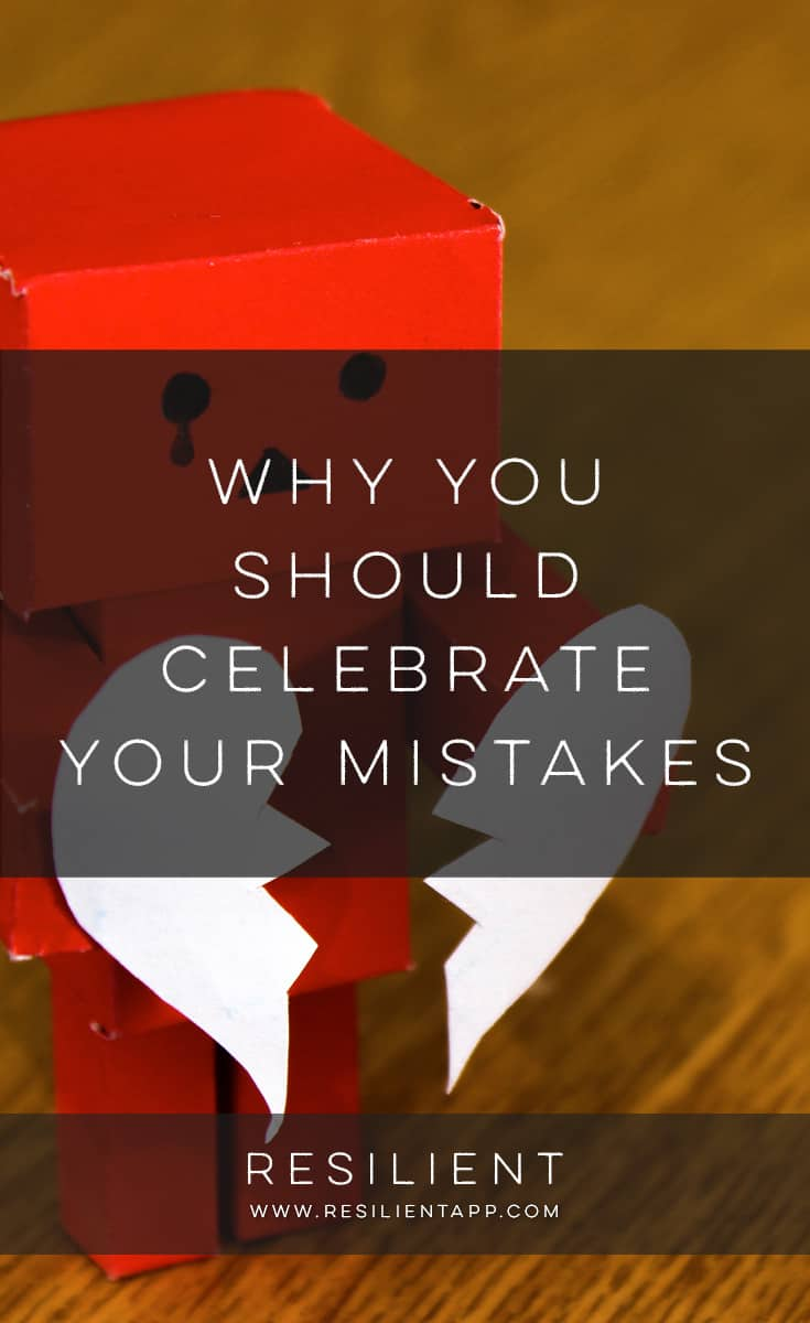 When you make a mistake, big or small, cherish it like it's the most precious thing in the world. Because in some ways, it is. Most of us feel bad when we make mistakes, beat ourselves up about it, feel like failures, get mad at ourselves. But here's why you should celebrate your mistakes.