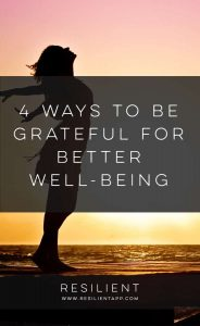 Your well-being has a lot to do with your mind. Your thoughts and attitude contribute toward your health and happiness. Feeling thankful is a cue for your system to produce feel-good chemicals, while worries make you feel bad. Bearing this in mind, why not practice the art of gratitude every day for greater well-being? Here are 4 ways to be grateful for better well-being.