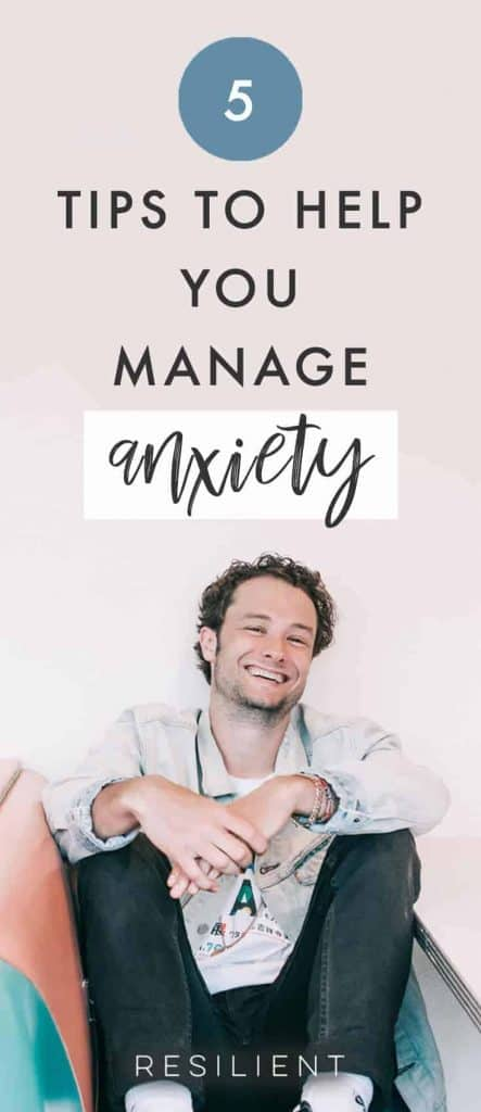 Anxiety impacts millions of people all around the world, and sometimes it increases with age and the burden of more responsibilities. What you may not realize is how common anxiety issues are, and how simple tools can be used to help bring back control and happiness to your life. Here are 5 tips that will help you manage anxiety.
