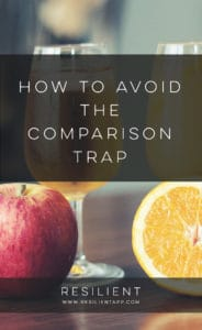 How to Avoid the Comparison Trap