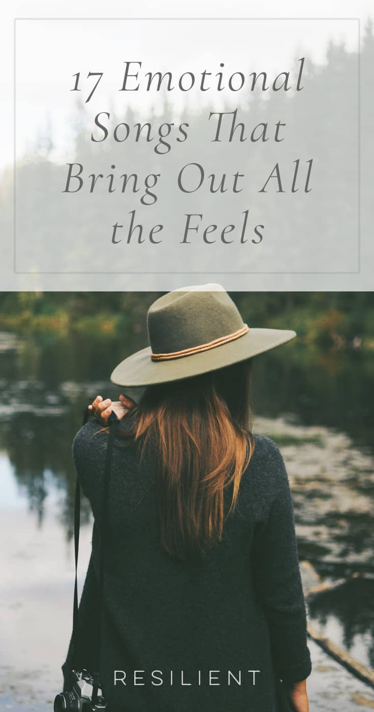 "There are times when you want to listen to motivating, upbeat music, and there are other times when you want to a song that's so full of pure emotion that it turns you inside out. Here are 17 emotional songs that bring out all the feels (""feelings"" in meme speak ;)). Some are a little slower or sad, but all are very emotional and powerful."