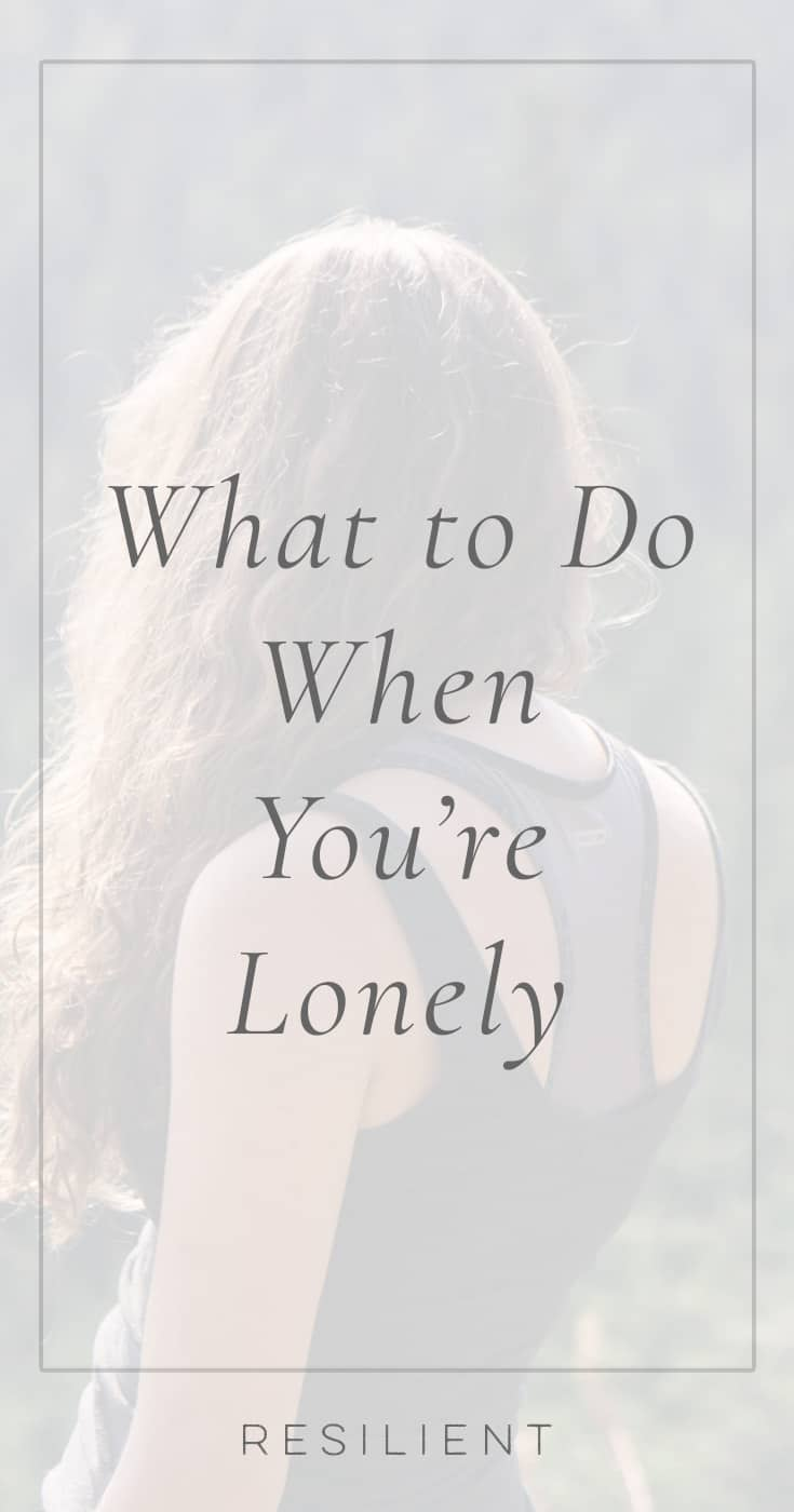 Sometimes we all get lonely. You might be so used to having people around you to the point that being by yourself becomes strange, quiet, empty. And this feeling of emptiness can be frightening. Here's what to do when you're lonely.