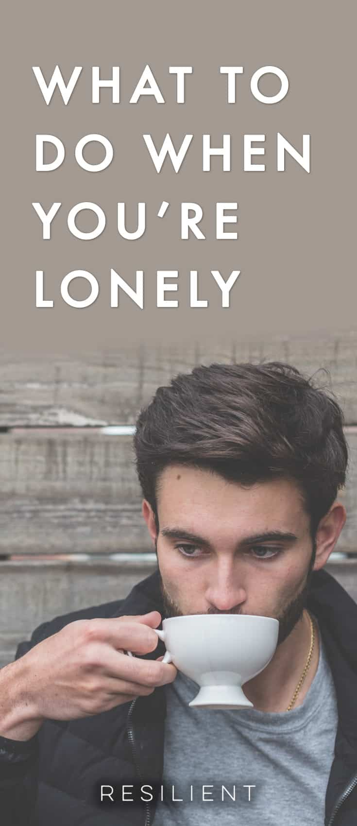 Sometimes we all get lonely. Youmight besoused to having people around you to the point that being by yourselfbecomes strange, quiet, empty. And this feeling of emptiness can be frightening. Here's what to do when you're lonely.