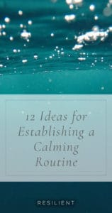 One of the most rewarding changes in my life in the last couple of years has been finding peace with a morning routine. I've made it a habit to wake before most of the world, at about 4:30 a.m., and just enjoy the quiet and solitude. It has made all the difference in the world. Here are 12 ideas for establishing a calming routine.
