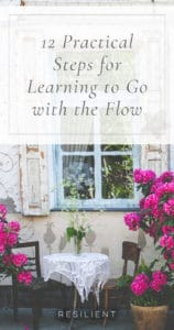12 Practical Steps for Learning to Go with the Flow