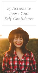 One of the things that held me back from pursuing my dreams for many years was fear of failure … and the lack of self-confidence that I needed to overcome that fear. It's something we all face, to some degree, I think. Here are 25 actions to boost your self-confidence.