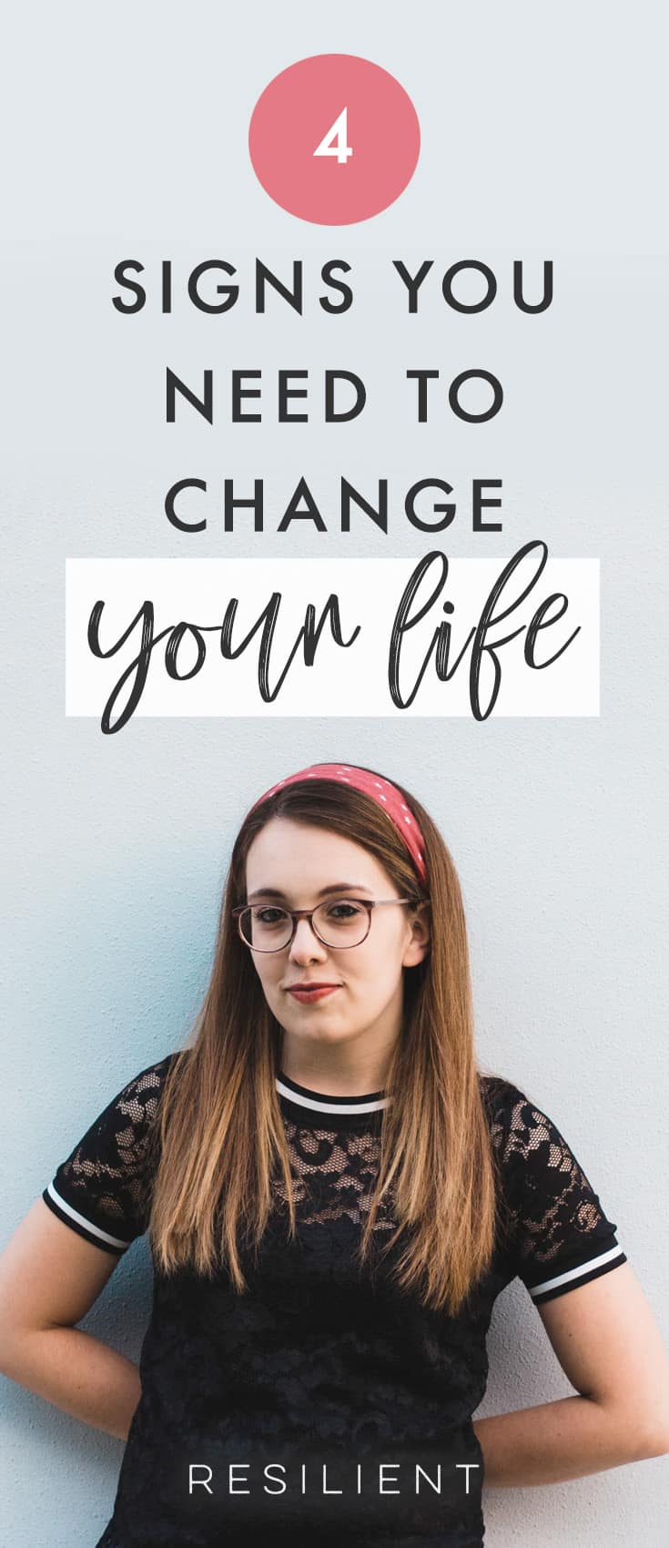 Realizing that your life requires a change isn't always easy. As months and years pass you become used to things the way they are even if they aren't ideal. Here are four signs you need to change your life.