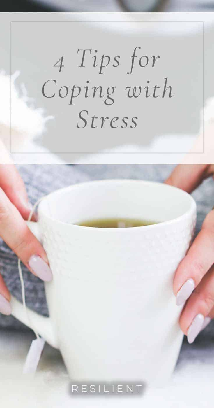 We all get stressed. Sometimes it can feel like there is no way to avoid it or overcome it, but that's not true. Knowing how to cope with stress can dramatically improve your life and is achievable through just a few simple lifestyle changes. Whatever the situation and whatever the cause of your stress, it is important to remember that you are in control. Take charge today by learning 4 tips for coping with stress.
