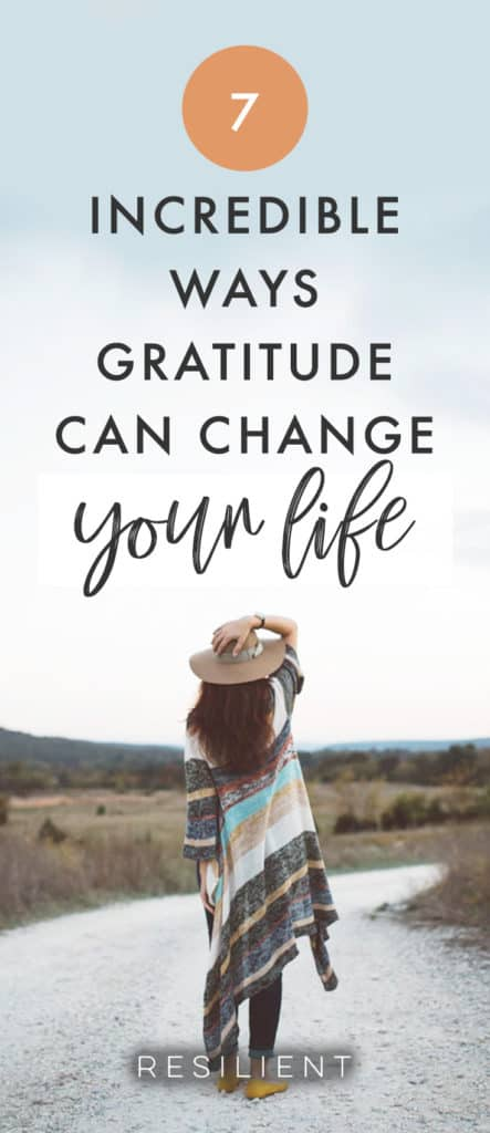 It's amazing how one simple, easy, positive action can change so much in a person's life. One of the things that has had the biggest effect on my life is the realization of the power of gratitude. Simply giving thanks. Here are 7 important ways that gratitude can change your life.
