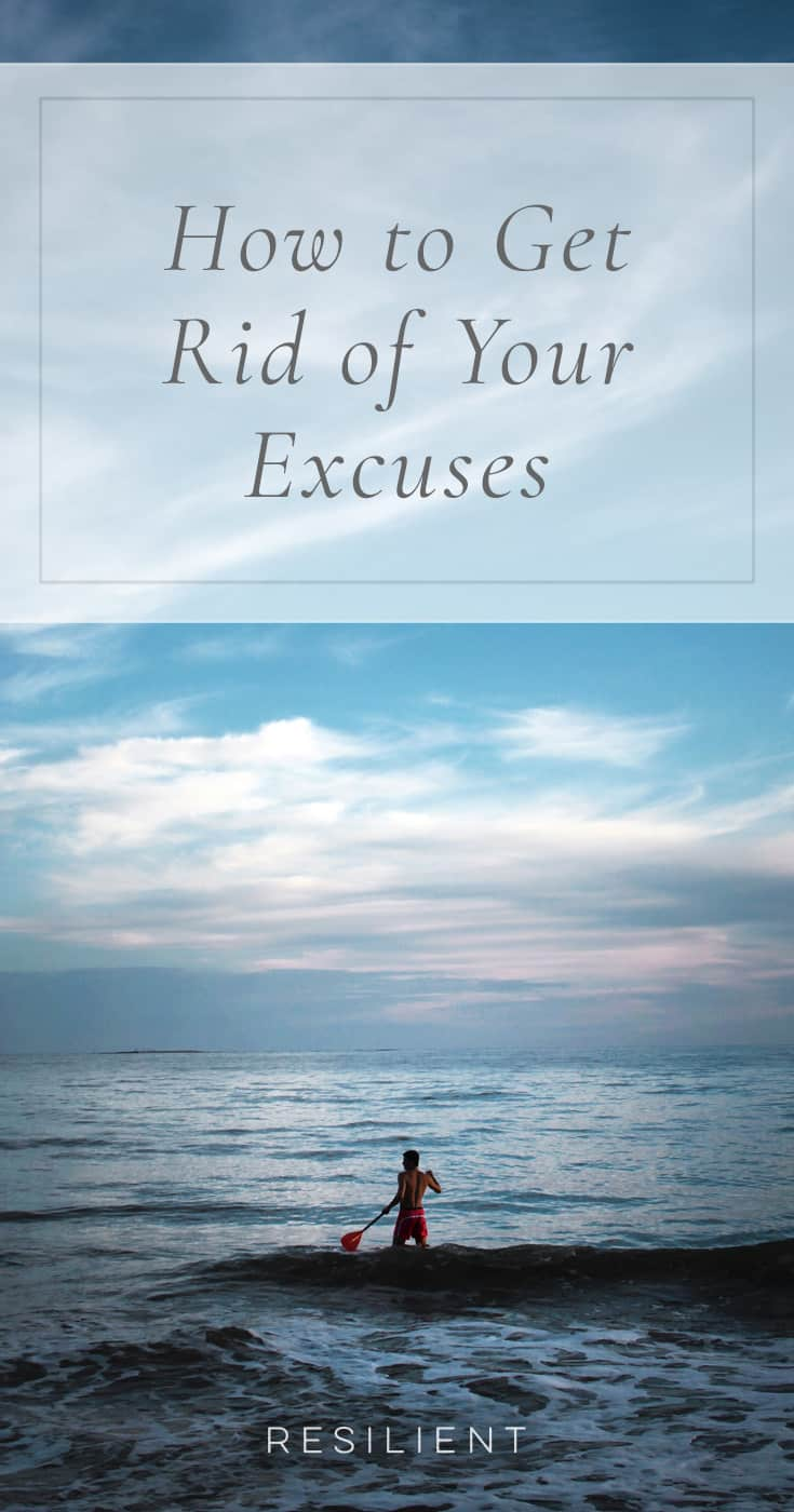 We all make excuses. But the successful ones are those who can squash any excuses like the annoying bugs they are. I'm too tired. I don't have the time. I don't feel motivated. I'd rather do nothing. I don't have the money, equipment, space. I can't because … Here's how to get rid of your excuses.