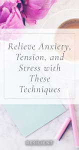 Feeling 'wired,' stressed out, or just plain frantic? Those symptoms of anxiety can make you feel like a lab rat on a treadmill. They disrupt your sleep, spoil your day and can seem overwhelming. If you keep trying to focus on the reasons behind your symptoms, it's often a losing battle -- it's not what's happening to you that raises your anxiety, but how you react to it. Here's how you can help yourself and relieve anxiety and stress.