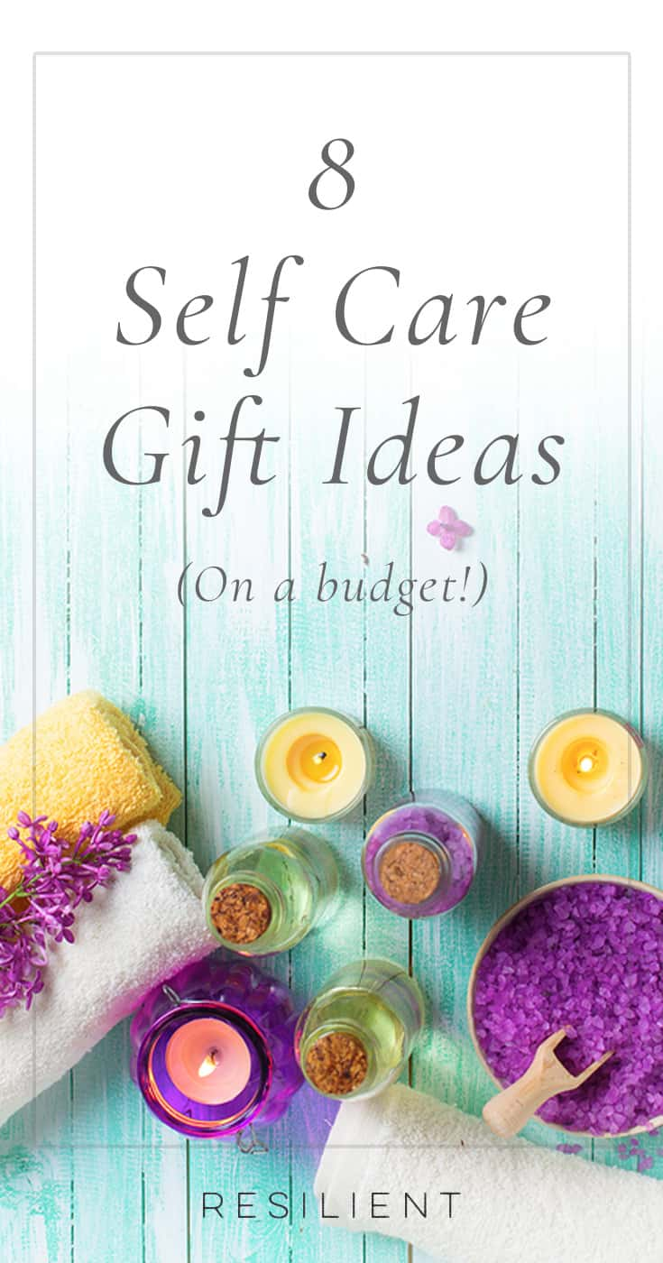 On days when you're feeling low or need a little pick-me-up or me time, you can devote some time to self care and pampering.  Here are 8 self care gift ideas on a budget. :)